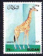 1990, Soudan, Faune, Girafe - Soudan (1954-...)