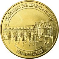 France, Jeton, Jeton Touristique, Chenonceau -  Chateau, 2016, MDP, SUP - France