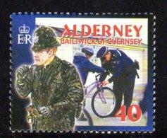 2003 Alderney, Police, Vélo, Bicycle - Alderney