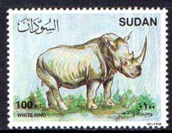 1990, Soudan, Faune, Rhinoceros - Soudan (1954-...)