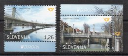 SLOVENIE - SLOVENIA - 2018 - EUROPA - PONTS - BRIDGES - - Slovénie