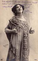 LA CAVALIERI - CARTE VRAIE PHOTO / REAL PHOTO : REUTLINGER - CARTE PRÉCURSEUR / FORERUNNER POSTCARD ~ 1900 (aa839) - Entertainment