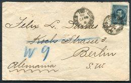 1896 Argentina Bank Cover. Buenos Aires, El Banco De Londres Rio De La Plata - Berlin Germany - Lettres & Documents