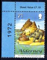 2007 Alderney, Rhinoceros - Alderney
