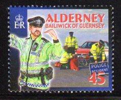2003 Alderney, Police, Accident, Voiture - Alderney