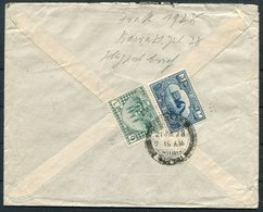 1928 Iraq Basra Airmail Cover - Amsterdam Holland - Iraq