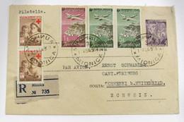 Yugoslavia Aéreo 18-20(2)+Benéfico 9(2) - 1945-1992 République Fédérative Populaire De Yougoslavie