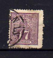 1862-66   Suède Armoiries, 17 Ob, Cote 185 €, - Suède