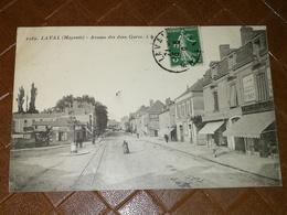 CPA 53 LAVAL - Avenue Des Deux Gares - Laval