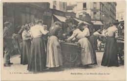 D75 - PARIS VECU - LE MARCHE DANS LA RUE  - Belle Animation - France