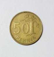 FINLANDIA 50 PENNIA 1971 - Finlandia