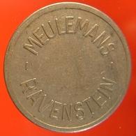 KB290-1 - MEULEMANS RAVENSTEIN - Ravenstein - WM 22.5mm - Koffie Machine Penning - Coffee Machine Token - Professionnels/De Société