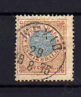 1872-85   Suède Armoiries, 17 Ob, Cote 185 €, - Suède