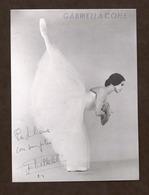 Opera Balletto - Autografo Della Ballerina Gabriella Cohen - Anni '70 - Autografi