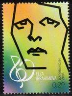 AZERBAIJAN, 2018, MNH, MUSIC, COMPOSERS, ELZA IBRAHIMOVA, 1v - Musique