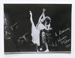 Opera Balletto - Autografo Della Ballerina Marzia Falcon - 1991 - Autografi