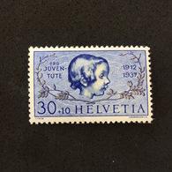HELVETIA. PRO JUVENTUTE 1937. MNH. C4006G - Sin Clasificación