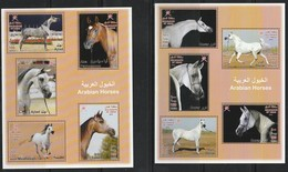 OMAN - 2 Blocs N°55/56 ** (2012) Chevaux - Oman