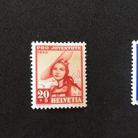 HELVETIA. PRO JUVENTUTE 1940. MNH. C4007G - Stamps