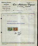 ARQUENNES - Facture Ets ALPHONSE PIJPOPS (1966) - Belgique