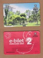 AC - BUS, METRO, TRAM CARD FOR PUBLIC TRANSPORTATION ALAADDIN TEPESI KONYA, TURKEY - Biglietti Di Trasporto