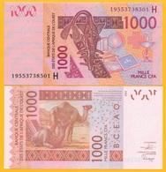 West African States 1000 Francs Niger (H) P-615H 2019 UNC Banknote - États D'Afrique De L'Ouest
