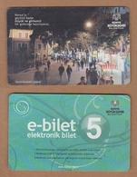 AC - BUS, METRO, TRAM CARD FOR PUBLIC TRANSPORTATION KAZIM KARABEKIR CADDESI KONYA, TURKEY - Titres De Transport