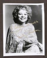 Musica Lirica - Autografo Del Soprano Marilyn Zschau - Anni '70 - Autografi
