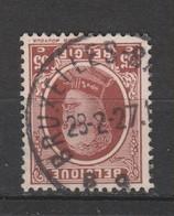 COB 201 Oblitération Centrale BRUXELLES Dispersion D'un Ensemble Houyoux Oblitération Concours - 1922-1927 Houyoux