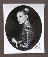 Musica Lirica - Autografo Del Mezzosoprano Elene Zilio - Anni '70 - Autografi