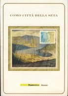 Como Citta' Della Seta - Anno 2001 - Folder - 6. 1946-.. Repubblica