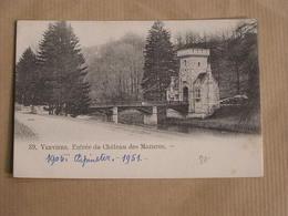 VERVIERS Entrée Du Château Des Mazures  Province Liège België Belgique Carte Postale Postcard - Verviers