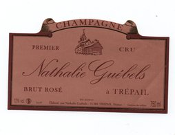 "Etiquette De Champagne     ""   Nathalie  Guebels - Champagne"