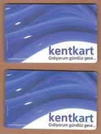 AC - BUS, METRO, TRAM, FERRY CARD FOR PUBLIC TRANSPORTATION TURKEY - Titres De Transport