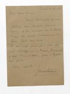Musica Lirica - Lettera E Autografo Della Cantante D'opera Ivana Tosini - 1979 - Autografi