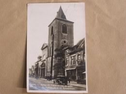 MENIN MENEN MEENEN Eglise Saint Vaast Animée Province Flandre Occidentale  België Belgique Carte Postale Postcard - Menen