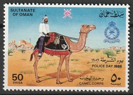 OMAN - N°292  ** (1986) Journée De La Police - Oman