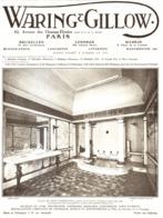 "PUB MEUBLES  ANGLAIS  "" WARING & GILLOW  ""  1913 ( 1 ) - Autres Collections"