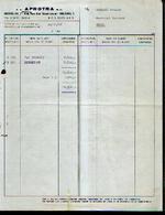 BRUXELLES APOTRA S.a. – Relevé De Ommissions (1966) - Belgique