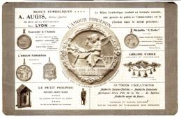 """PUB MEDAILLES   """" A. AUGIS """"   1913 ( 1 ) - Autres"""