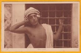 Jeune Arabe - LEHNERT & LANDROCK - CP Photo N° 191 - Tunisie Années 1910 - Afrique