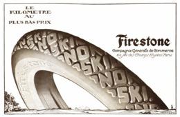 "PUB  PNEUS  "" FIRESTONE ""  1920 ( 1 ) - Transports"