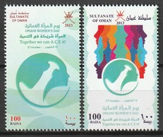 OMAN - N°739/40  ** (2013) - Oman