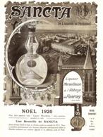 """PUB LIQUEUR  """" SANCTA """" De L'ABBAYE De FAVERNEY  1920 ( 3 ) - Autres Collections"""