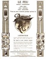 """PUB  EXTINCTEUR  """" PYRENE """"  1920 ( 1 ) - Technical"""