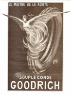 "PUB  PNEUS   "" GOODRICH ""    1920 ( 1 ) - Transports"