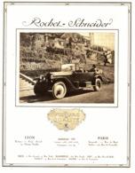 """PUB  VEHICULES  """" ROCHET-SCHNEIDER """"    1920 ( 3 ) - Transports"""