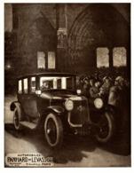 """PUB  VEHICULES  """" PANHARD Et LEVASSOR """"    1920 ( 1 ) - Transports"""
