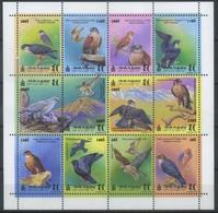 Mongolia 1999 Fauna, Birds, Falcons - Mongolie