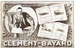"PUB  VEHICULES   "" CLEMENT-BAYARD ""  1911 ( 1 ) - Transports"